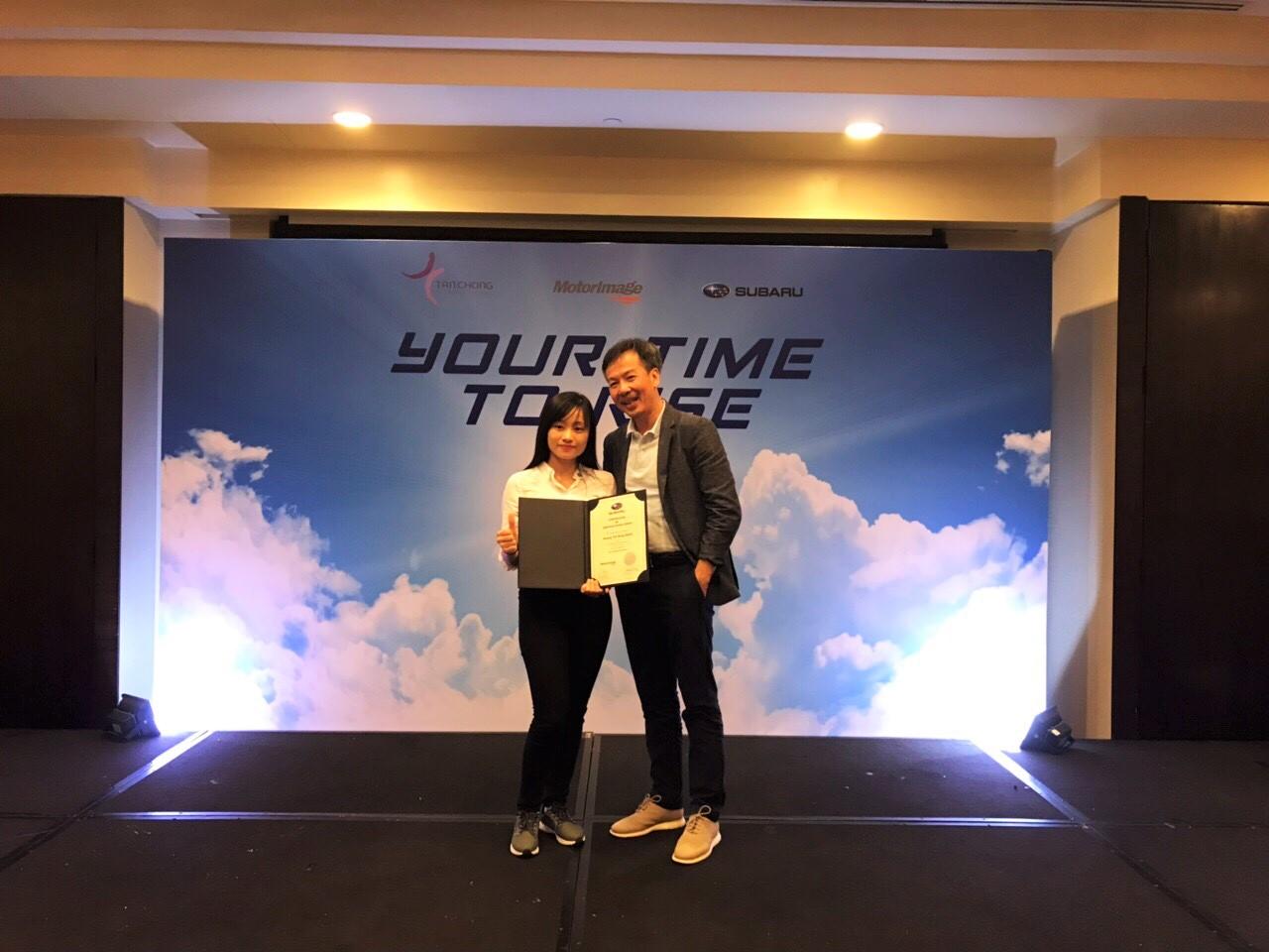Subaru Hà Nội vinh dự nhận Giải thưởng Dịch vụ Subaru Star 2018