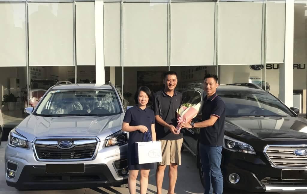 Tháng ngâu mua xe Subaru