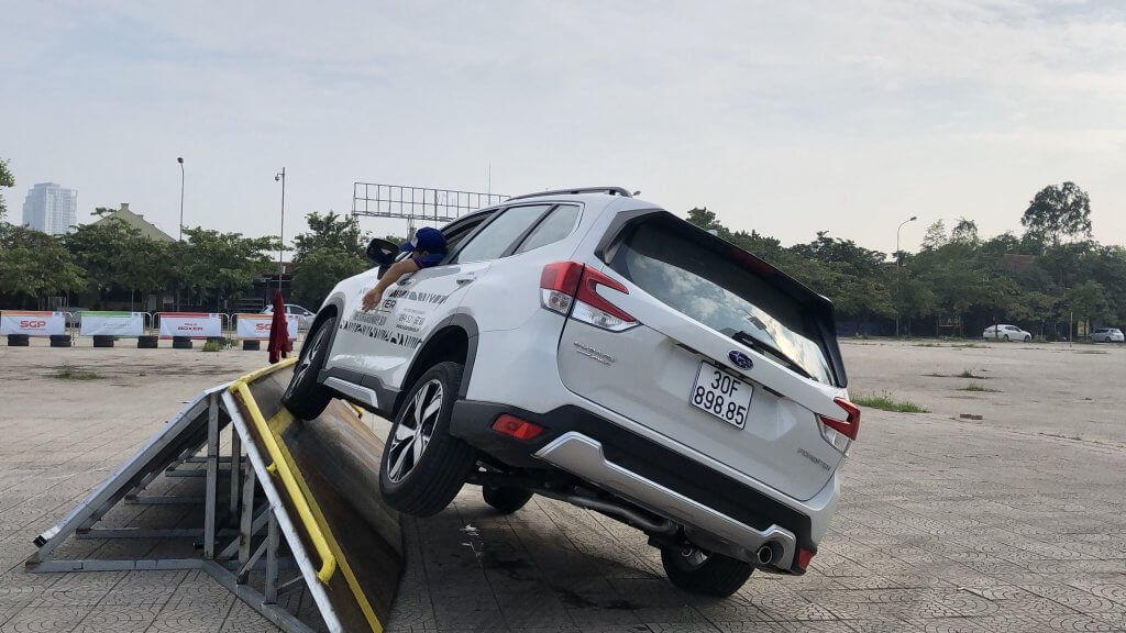subaru ultimate test drive