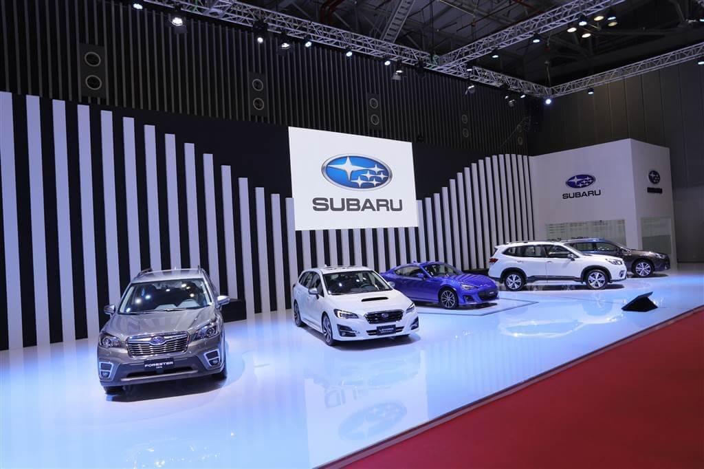 Subaru tại triển lãm ô tô 2019
