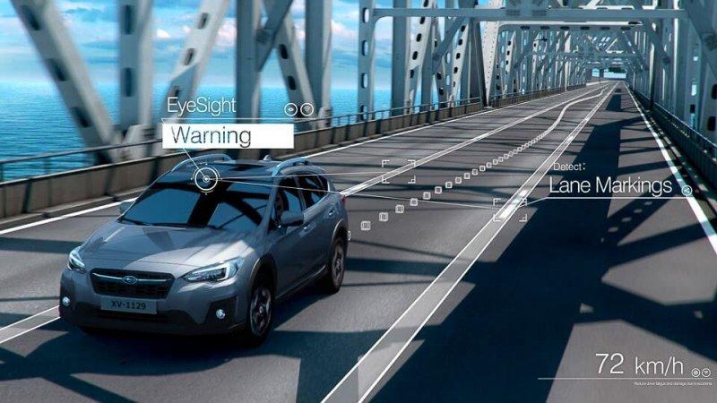 Mắt thần eyesight hoạt động như thế nào trên Subaru